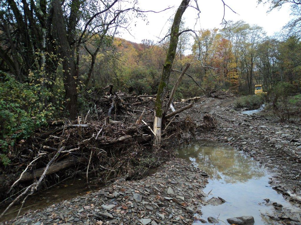 Creek Restoration Project in Pennsylvania