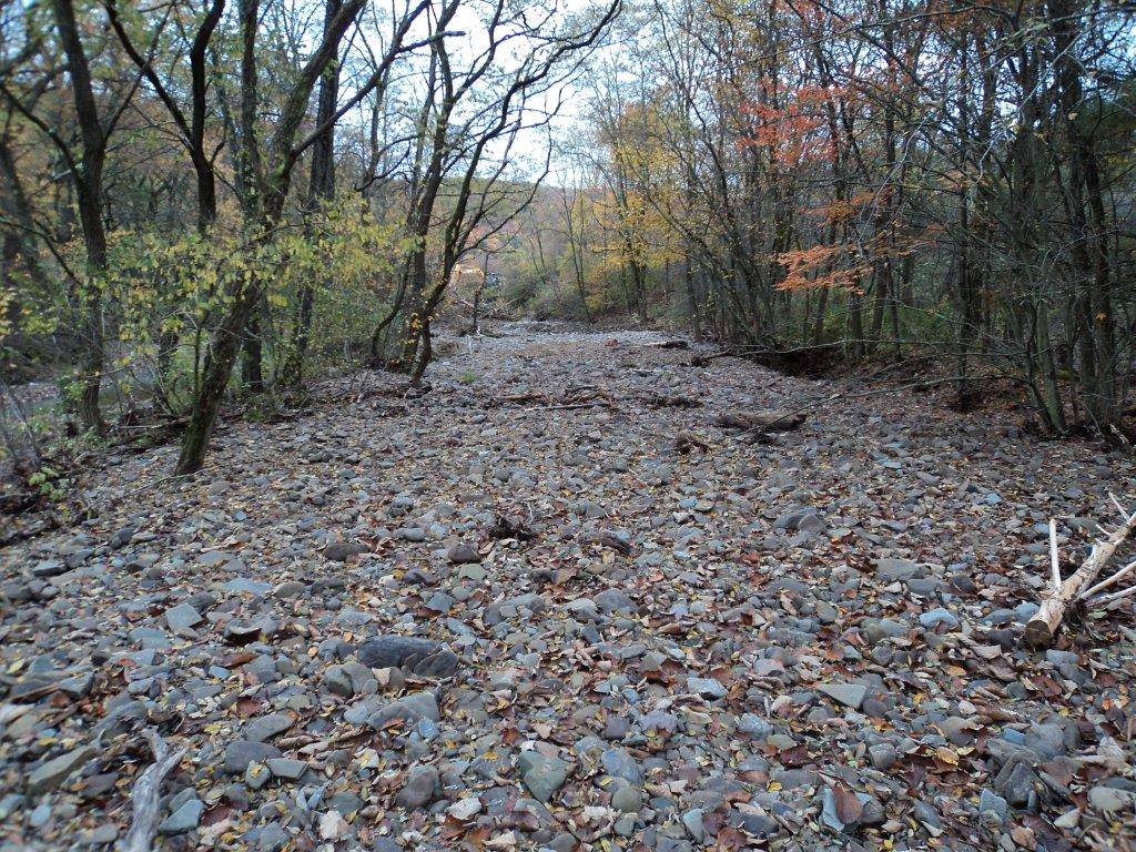 Creek Restoration after Flooding