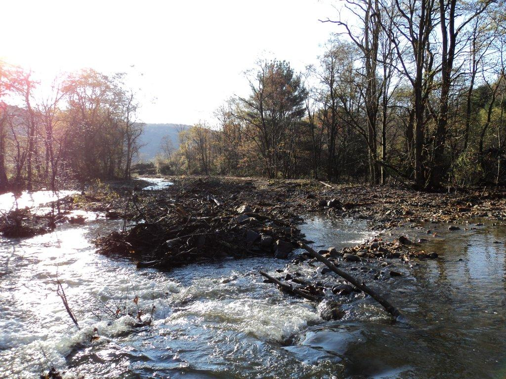 Creek Restoration Project in Wyoming County