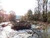Creek Restoration Project near Tunkhannock